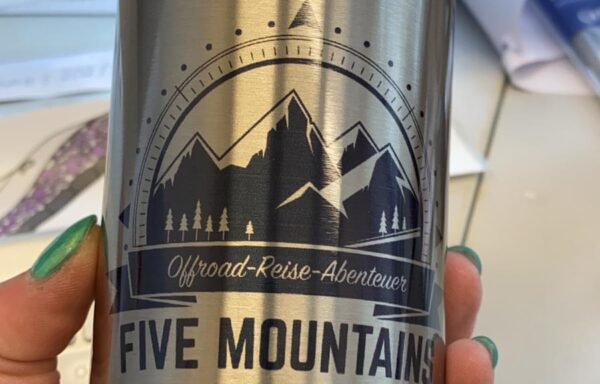 Five Mountains Editions Cup